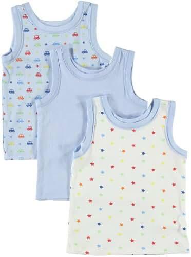 BIG OSHI Baby 3 Pack Sleeveless Undershirt Tank - PLK-804