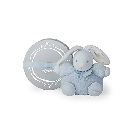Kaloo Perle Plush Toys, Blue Chubby Rabbit, Small