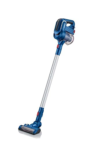 Severin S Special Cordless Vacuum Cleaner, Ocean Blue Renewed