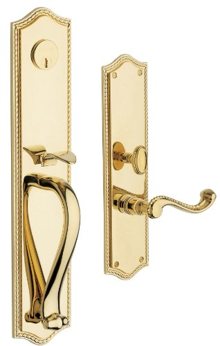 Baldwin Hardware 6963.003.Lent Bristol Set Trim Front Door Handle