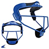 """Champro The Grill Defensive Fielder's Facemask, Royal, 6 1/4""""- 6 3/4"""""""