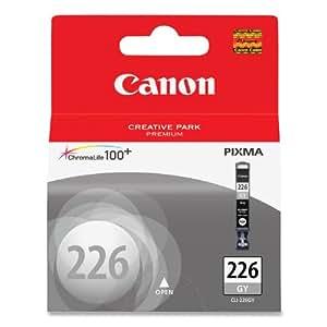Canon CLI-226GY - Cartucho de tinta para impresoras (Gris, PIXMA MG6120, PIXMA MG8120, PIXMA MG6120 Refurbished, PIXMA MG8120B, Inyección de tinta)