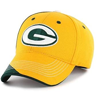9d7765a639b Image Unavailable. Image not available for. Color  Fan Favorite NFL Green  Bay Packers Hubris Cap Hat