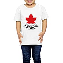 LDMH Kid's Team Canada Tee Shirt For 2-6 Year