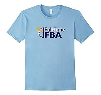 Men's Full-Time Logo T-Shirt 3XL Baby Blue