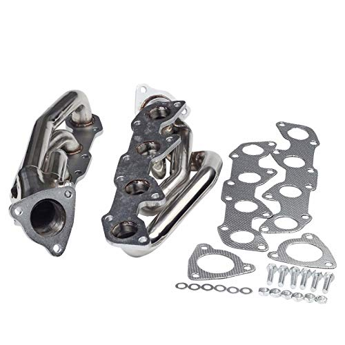 for Toyota Tundra Sequoia 4.7L V8 Stainless Racing Header Exhaust Manifold 2000 2001 2002 2003 2004
