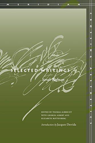 Selected Writings (Meridian: Crossing Aesthetics)