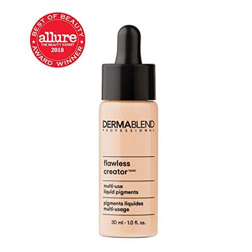 Dermablend Flawless Creator Liquid Foundation Makeup Drops, Oil-Free, Water-Free, 10N, 1 Fl. Oz.