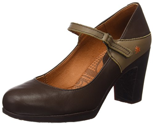 Art Women's Rio Brown Heeled Brown Closed Toe Star Brown Shoes 0297 ErPzqwtr
