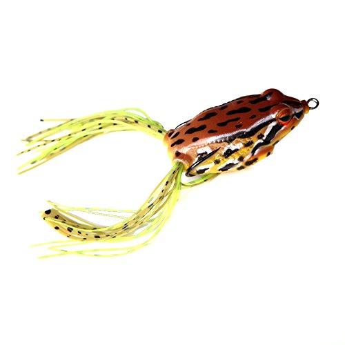 8g / 5cm Fishing Lure Lifelike Frog Hollow Body Soft Bait Fish Lure Fishing Tackle