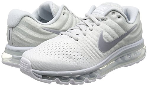 Nike Air Max 2017 White Pure Platinum Off White Wolf Grey