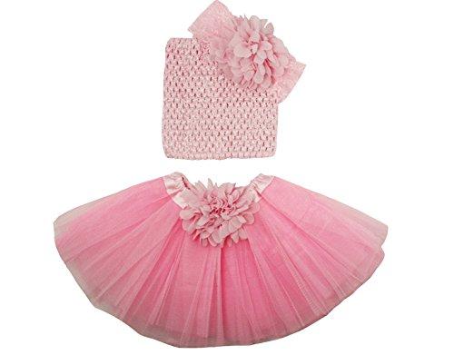 Wholesale Princess Tutu Gift Set Light Pink 0-12 months (Princess Set Tutu)