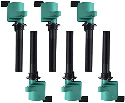 6 Ignition Coils Pack For 2001 2002 2003 2004 2005~2008 Ford Escape FD502 DG500