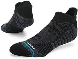 Men's Training Uncommon Solids Tab Socks Black XL
