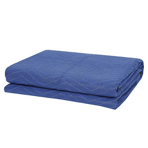 ZENY 12 Moving Blankets Packing Blanket Quilted Shipping Furniture Pads 80''x 72'' Moving Supplies,Furniture Protection and Pack Blanket by ZENY (Image #1)