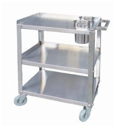 Stainless Steel Knock Down Push Cart 16 x 24 by Unknown