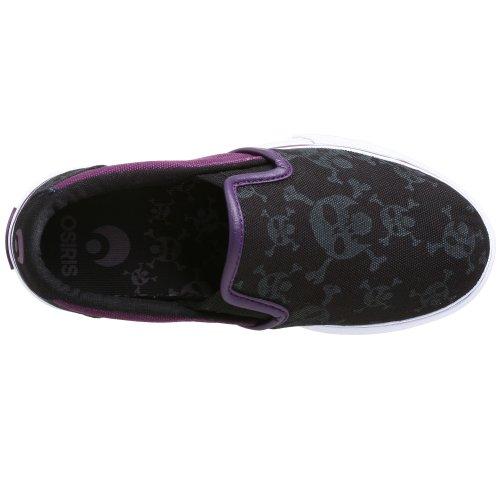 Osiris OSIRIS Scoop Black Purple Skull - Zapatillas de deporte para niño Black Purple Skull