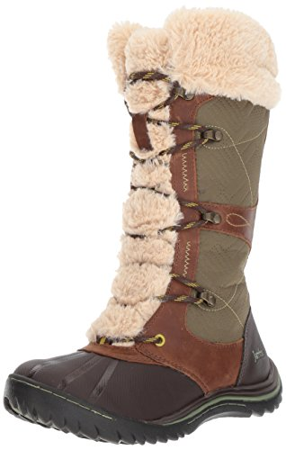 Snow Womens Brown Boot Womens Boot Brown Broadway Broadway Jambu Waterproof Waterproof Jambu Snow 6qFCwxOv