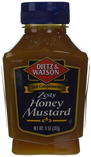 Dietz & Watson, Deli Compliments, Zesty Honey Mustard, 11oz Bottle (Pack of 2) (Fat Free Honey Mustard)