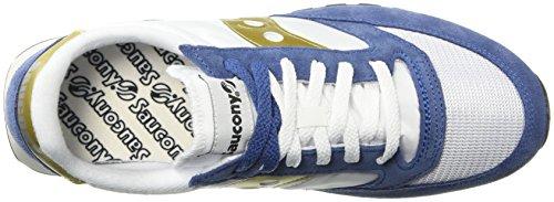 Saucony 12 Unisex Bianco Sneaker navy Jazz Vintage Original white Adulto – BfnwBqrxv