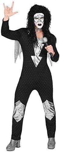 WIDMANN Disfraz XL de Heavy Kiss para Adulto XL: Amazon.es ...