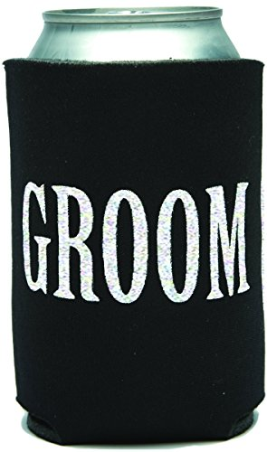 Mary Phillips Collapsible Can Cooler - GROOM -