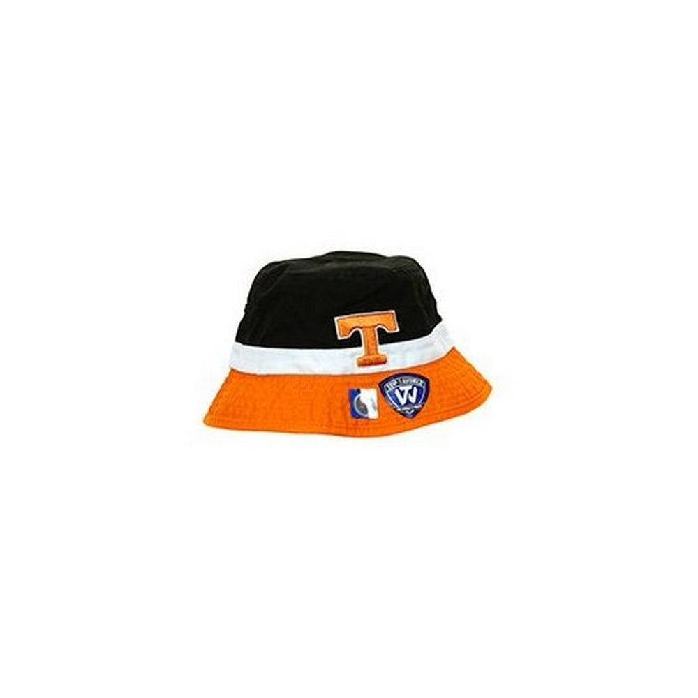 innovative design ed9d0 9b755 Amazon.com   Top of the World NCAA Licensed Tennessee Volunteers Youth  Embroidered Two Tone Bucket Hat Cap Lid   Sports   Outdoors