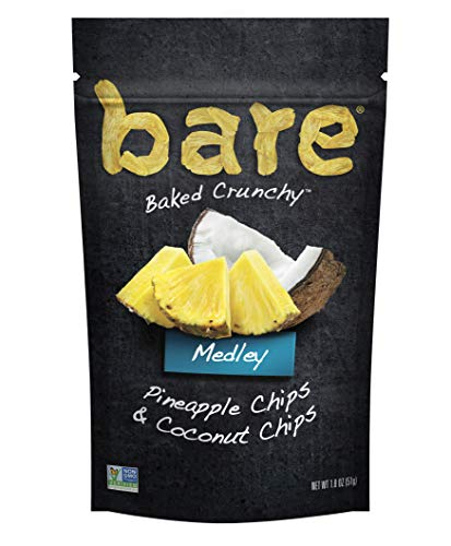 bare Medleys, Pineapple Coconut, 1.8oz (6Count)