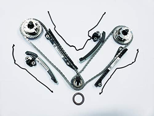 Updated Ford OEM 5.4L 3V Phaser Repair Kit - Phaser Sprockets, Tensioners, Guides, Chains 18pc equipment