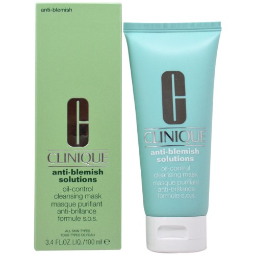 Clinique Anti-Blemish Solutions Oil-Control Cleansing Mask for Unisex - 100 ml