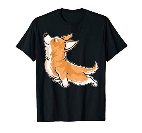 Corgi Yoga - Funny Corgi Shirt - Corgi Novelty Gifts