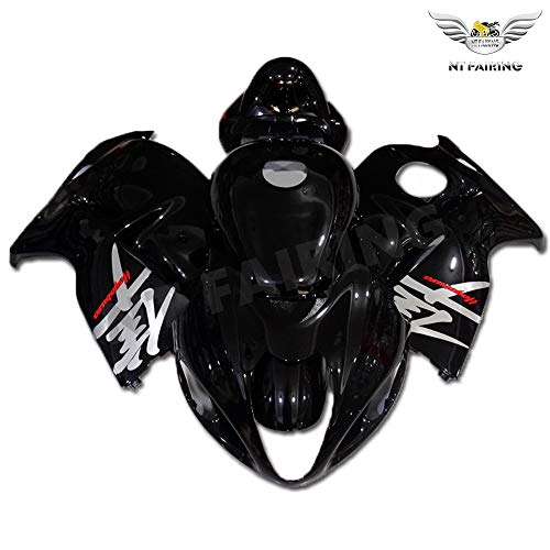 - NT FAIRING Complete Glossy Black Fit for SUZUKI 1997-2007 GSXR 1300 Hayabusa New Injection Mold ABS Plastics Bodywork Body Kit Bodyframe Body Work 1998 1999 2000 2001 2002 2003 2004 2005 2006