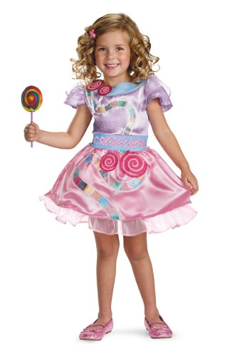 [Candyland Classic Girl Costume, Toddler (3T-4T)] (Costume Land)