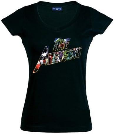 Mx Games Camiseta The Avengers 2012 Chica (Talla: XXL Chica Manga Corta Ancho/Largo[51cm/66cm]): Amazon.es: Juguetes y juegos