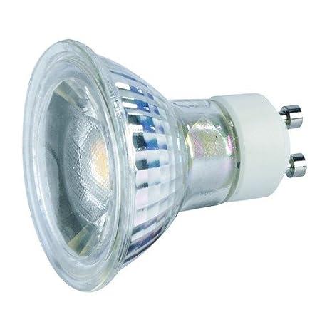 LED GU10 de la bombilla, 7 vatios, LED COB, 2700 KB, 38°, GU10, intensidad no regulable de eficiencia energética: A: Amazon.es: Iluminación