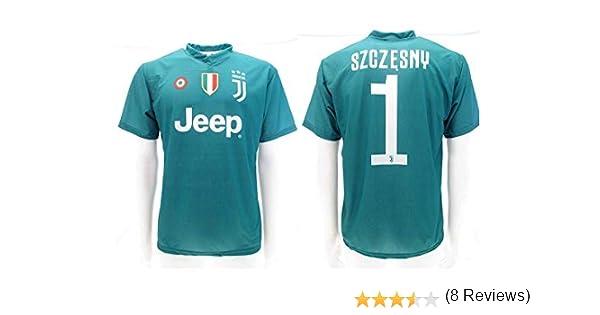 Camiseta de Fútbol Wojciech SZCZĘSNY Portero 1 Juventus Home Temporada 2018-2019 Replica Oficial con Licencia - Todos Los Tamaños NIÑO y Adulto (2 AÑOS): Amazon.es: Deportes y aire libre