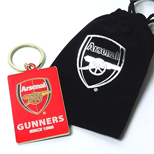 715fc0a0c73ab Official ARSENAL FC Gunners Keyring in Velvet Gift Bag Limited Stock