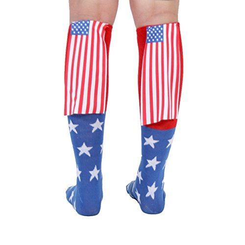 - Amazon.com: USA American Flag Cape Socks: Clothing