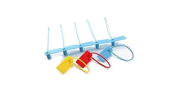f3c30ed63b84 Leadseals(R) 100 Plastic Numbered Luggage Wrap Anti-Tamper Seals ...