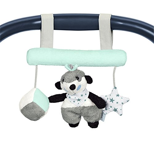 Sterntaler 6601622 - Spielzeug zum Aufhängen Elvis, weiß/grau/schwarz/mint