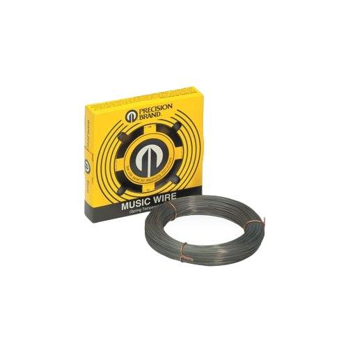 Precision Brand 039-21214 0.014″ Diameter Music Wire, 1/4 lb. Coil, High Carbon, Spring Tempered, C1085 Steel, 369 KSI Min Tensile Strength, 408 KSI Max Tensile Strength