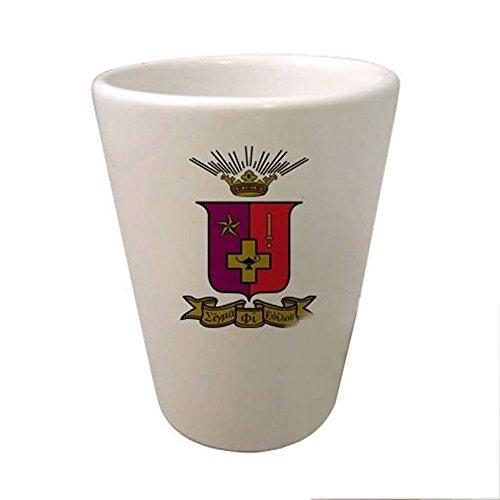 Greekgear Sigma Phi Epsilon SigEp Crest Ceramic Collectors Glass - Sigma Phi Epsilon Glass