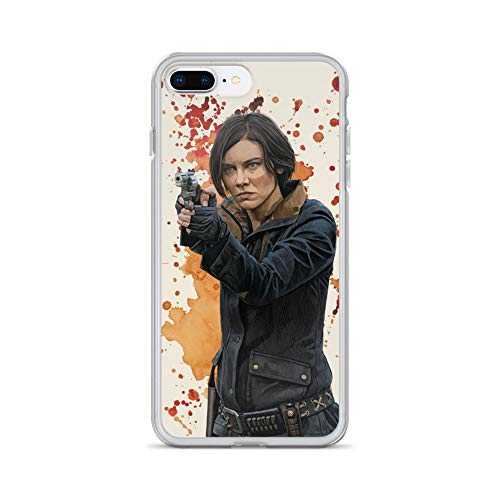 iPhone 7 Plus/8 Plus Case Anti-Scratch Television Show Transparent Cases Cover Maggie Rhee Tv Shows Series Crystal Clear -