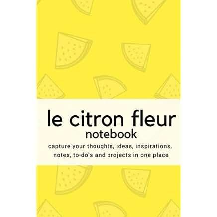 le bleu fleur notebook