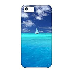 High-quality Durability Case For Iphone 5c(wonderful Blue Ocean)