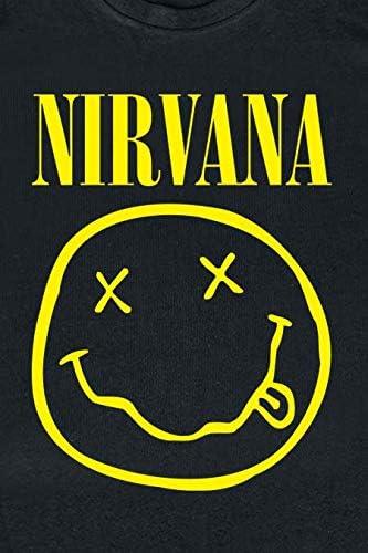 Nirvana Smiley Kids Kinder /& Babies T-Shirt schwarz