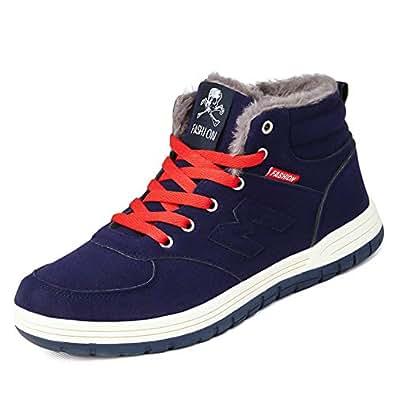 Amazon.com | Nishiguang Men Women Shoes Winter Warm Fully
