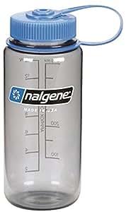 NALGENE WIDE MOUTH 0.5L BOTTLE (GREY)