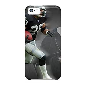 LJF phone case Anti-scratch And Shatterproof Oakland Raiders Phone Case For iphone 4/4s/ High Quality Tpu Case