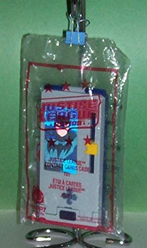 The Justice League Contact Cards Case McDonald/'s Action Figure